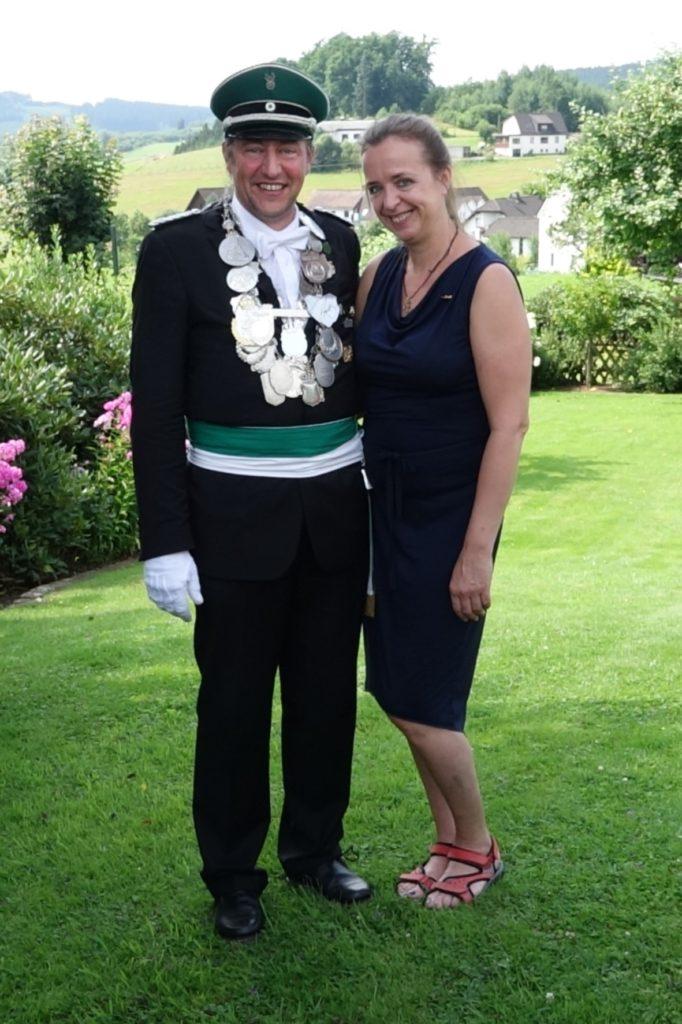 Schützenkönig 2016 Peter und Susanne Nolte